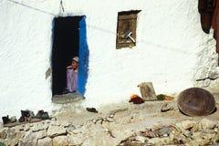 Kasserine, Túnez, Túnez - pueblo Imagen de archivo