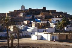 Kasserine, Túnez, Túnez - pueblo Fotos de archivo