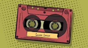 kassett vektor illustrationer