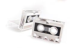 kassett isolerad micro Arkivbilder
