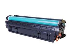 kassett isolerad white för laser-skrivare Royaltyfri Fotografi