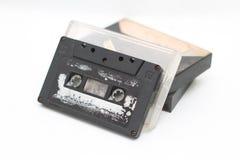 Kassettband, är en parallell magnetisk bandning, version 4 Royaltyfri Foto