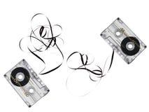 kassettband Arkivfoto