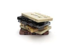 Kassettband Arkivfoton