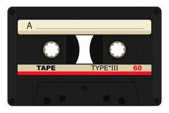 kassettcompact stock illustrationer