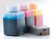 Kassette refuelling1 Stockfoto