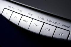 Kassettenbandkontrollen Stockbild