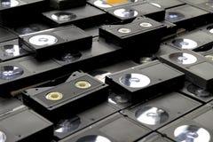 Kassetter för Betamax videobandspelareband Arkivbilder
