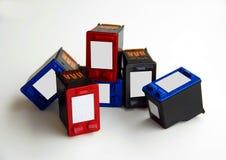 kassettfärgpulver Royaltyfria Bilder