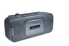 kassettradio Arkivfoton