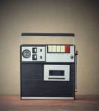 Kassettregistreringsapparat Fotografering för Bildbyråer