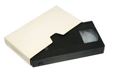 kassettvideo Royaltyfri Fotografi