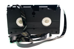 kassettvideo Royaltyfria Bilder