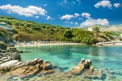 Kassiopi Beach, Corfu Island, Greece. stock image