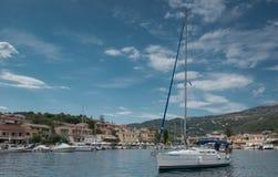Kassiopi, Corfu Fotos de Stock Royalty Free