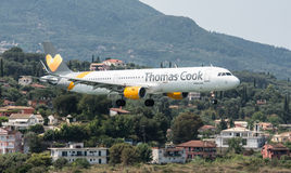 Thomas Cook Airbus stock photos