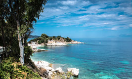 Kassiopi, Corfu royalty free stock photo