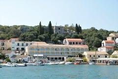 Kassiopi, Corfu, Grécia fotografia de stock