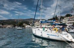 Kassiopi, Corfu stock image