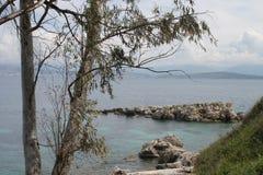Kassiopi Grekland Arkivbilder