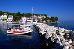 Kassiopi Stock Photo