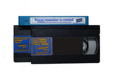 Kassucces Videocassettes Stock Afbeelding