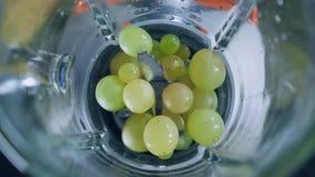 Kast för nya frukter i hushållanordningar arkivfilmer