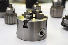 kasta för CNC-drejbänkmaskin royaltyfria foton
