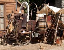 Kasta vagnen Royaltyfria Foton