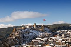 Kastamonu castle Stock Photography