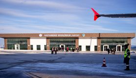 The Kastamonu Havalimani Airport Stock Photo
