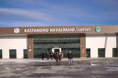 The Kastamonu Havalimani Airport Royalty Free Stock Images