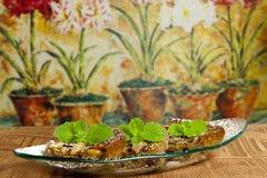 Kastaniekuchen Stockfoto