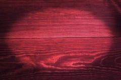 Kastanienbraune Bretter, ein Hintergrund mit Vignette Lizenzfreie Stockbilder