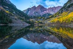 Kastanienbrauner Bell-Berg in Colorado Lizenzfreies Stockfoto