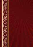Kastanienbrauner Hintergrund Lizenzfreie Stockbilder