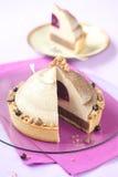 Kastanje en Blackcurrant de Cake van Entremet Royalty-vrije Stock Fotografie