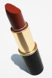 Kastanjebruine lippenstift Royalty-vrije Stock Foto