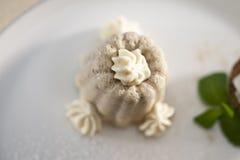 Kastanjebrun pudding Royaltyfri Fotografi