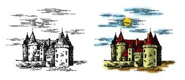 Kasteel 1 Royalty-vrije Stock Afbeelding