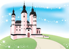 Kasteel royalty-vrije illustratie