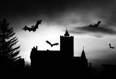 Kasteel 2 van Dracula Royalty-vrije Stock Foto's