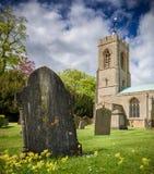 Kasteel Ashby Church Royalty-vrije Stock Foto