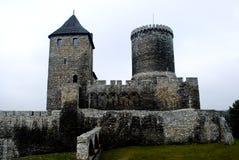 Kasteel in Bedzin, Polen.    royalty-vrije stock foto's