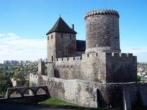 Kasteel in Bedzin (Polen) royalty-vrije stock afbeelding