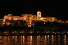 Kasteel in Boedapest Stock Foto's