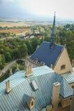 Kasteel in Bojnice, Slowakije Royalty-vrije Stock Fotografie