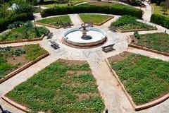 Kasteel botanische tuin, Silves, Portugal stock afbeeldingen