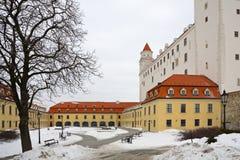 Kasteel - Bratislava royalty-vrije stock foto