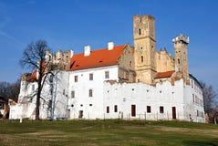 Kasteel Breclav, Tsjechische republiek, Europa stock fotografie